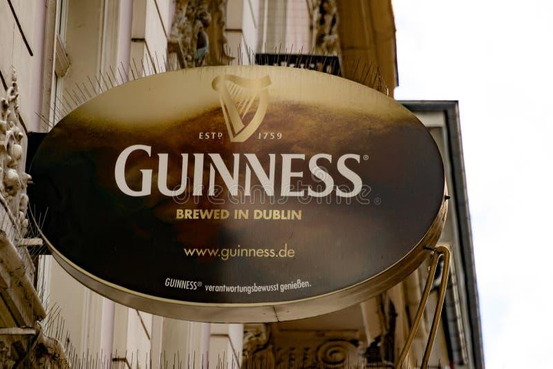 Logo di GUINNESS fotografia stock