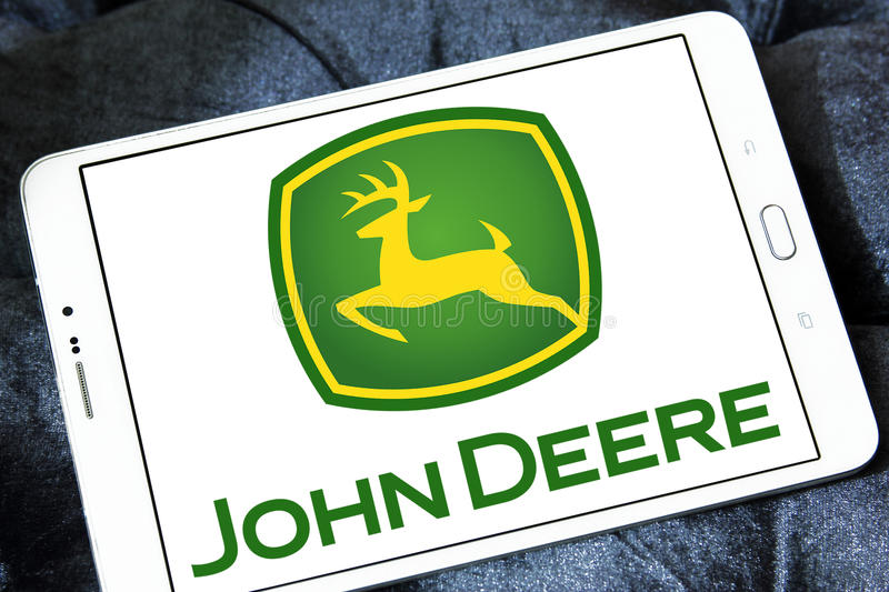Logo di John Deere immagine stock libera da diritti