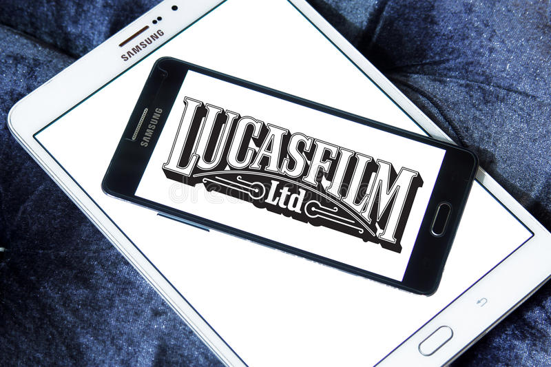 Logo di Lucasfilm fotografia stock libera da diritti
