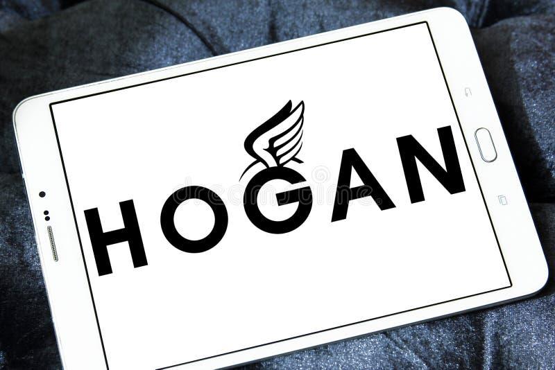 Logo di marca dell'abbigliamento del Hogan fotografia stock libera da diritti