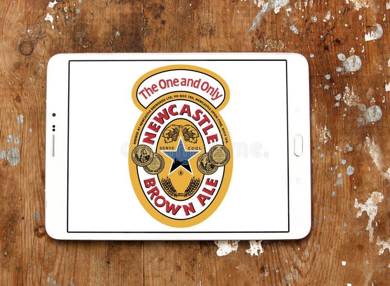 Logo di marca della birra inglese di Newcastle Brown immagini stock