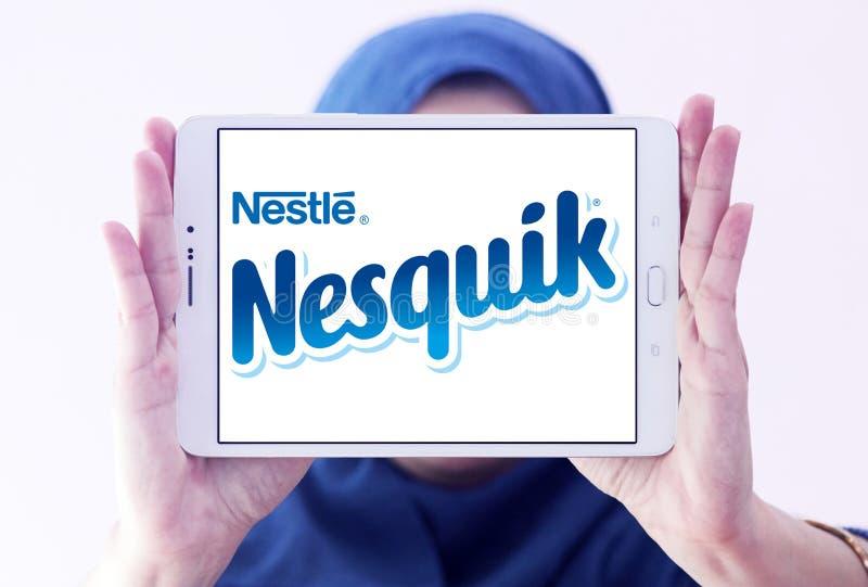 Logo di marca di Nesquik fotografia stock