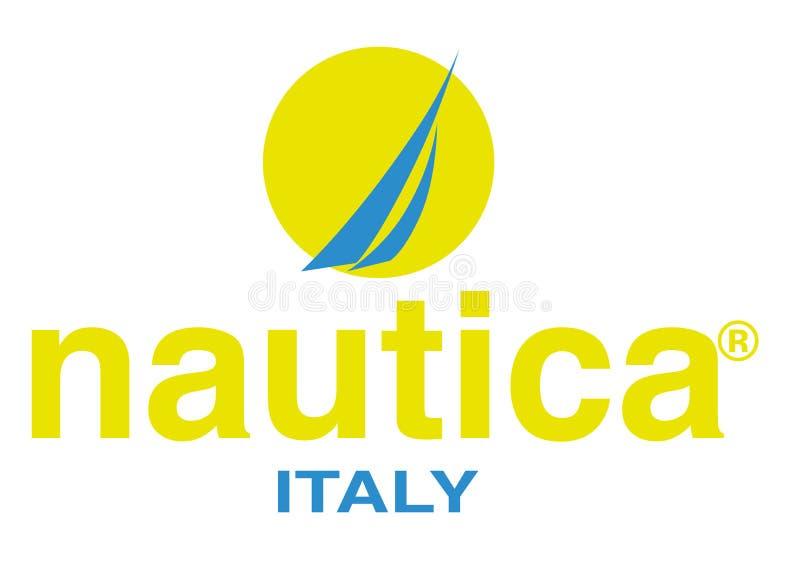 Logo di Nautica Italia illustrazione vettoriale