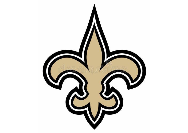 Logo di New Orleans Saints royalty illustrazione gratis