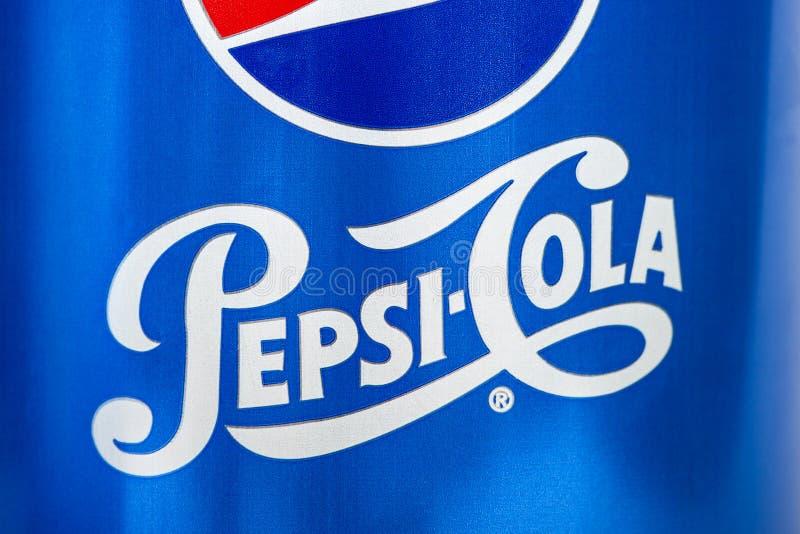 Logo di pepsi-cola fotografie stock