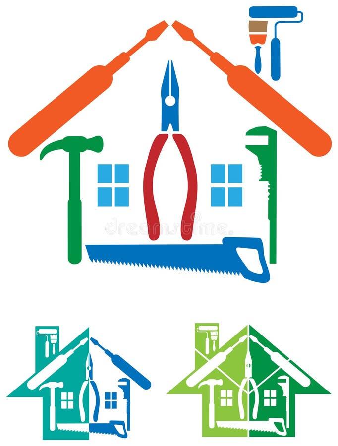 Logo di riparazione della Camera illustrazione vettoriale