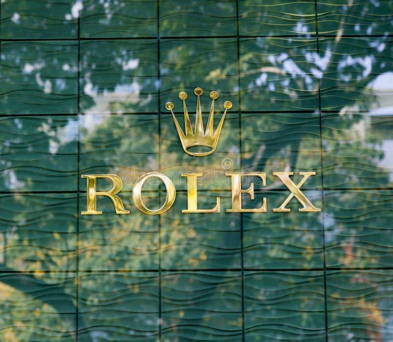 Logo di Rolex immagine stock