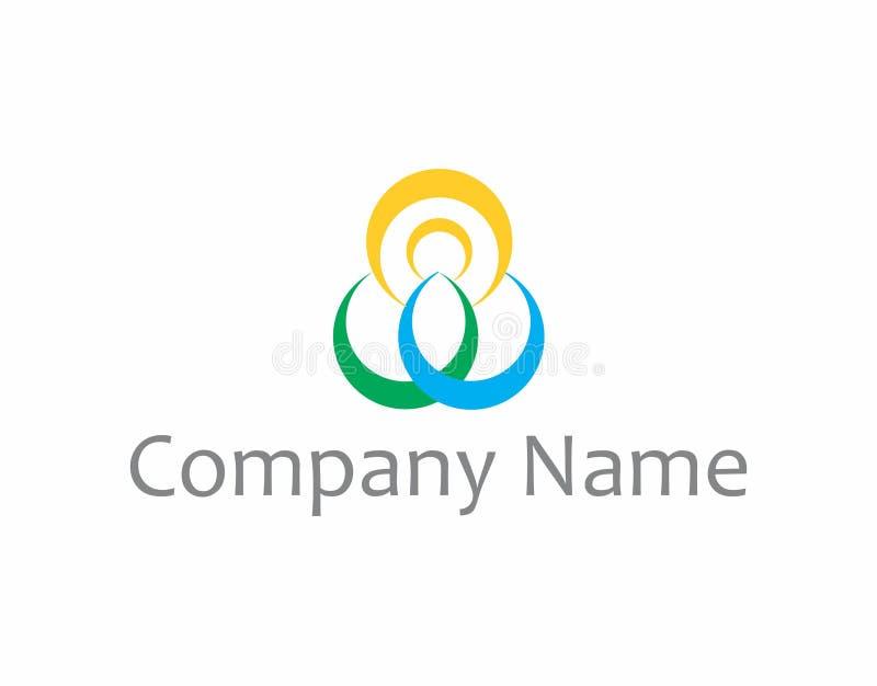 Logo di spiritualità e di yoga royalty illustrazione gratis