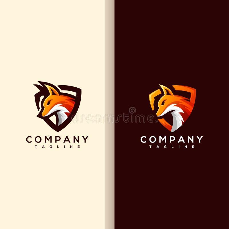 Logo di sport di Fox e illustrazione di stock