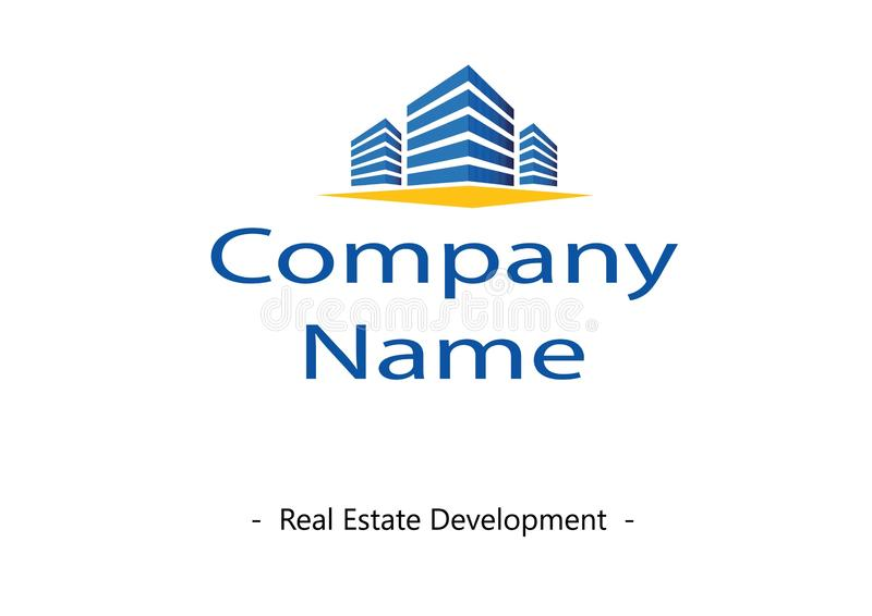 Logo di sviluppo immobiliare royalty illustrazione gratis
