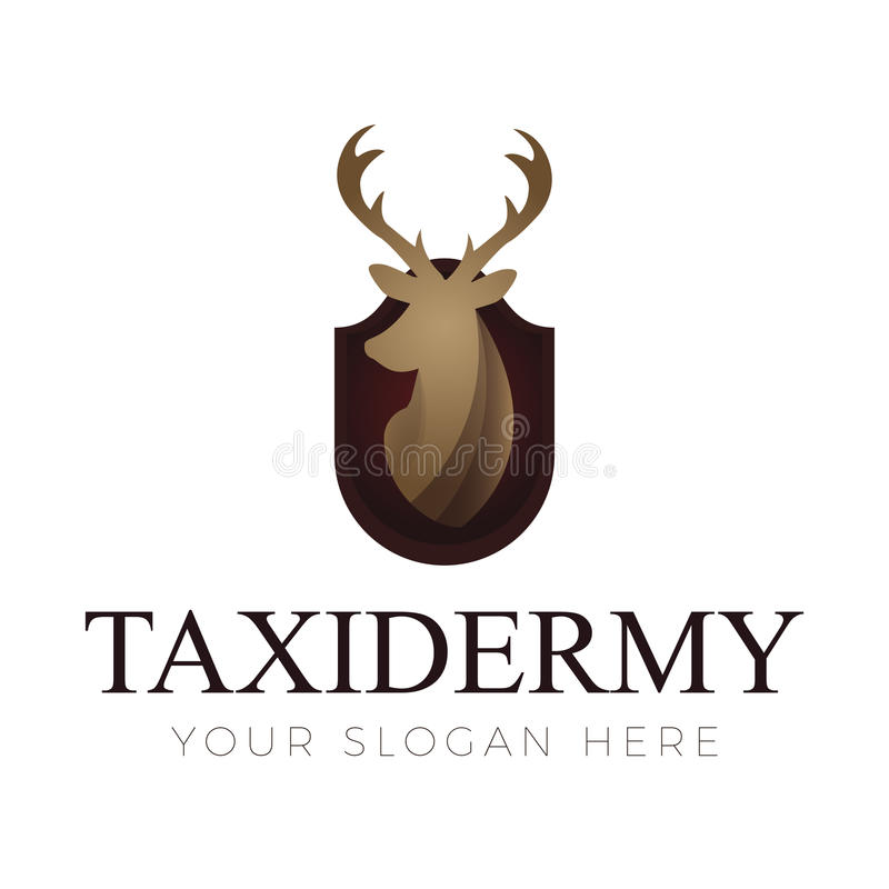 Logo di tassidermia royalty illustrazione gratis