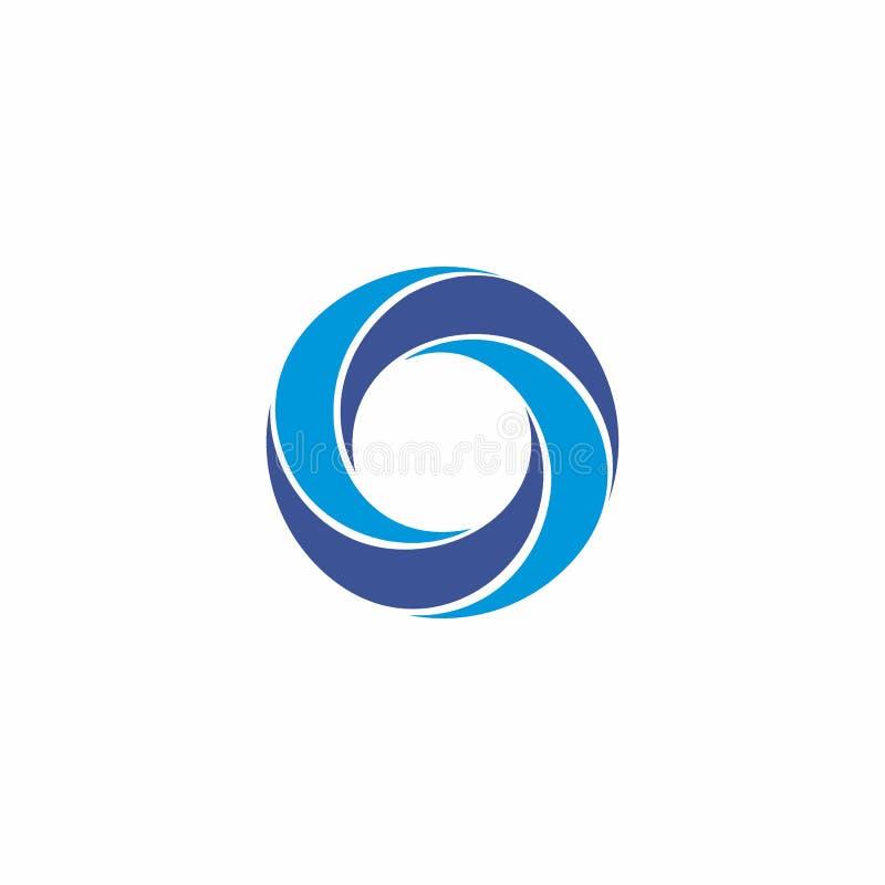 Logo di turbinio illustrazione vettoriale