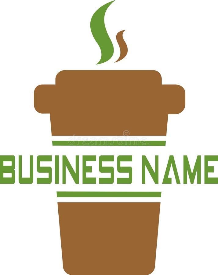 Logo di vettore per il club o il caffè royalty illustrazione gratis
