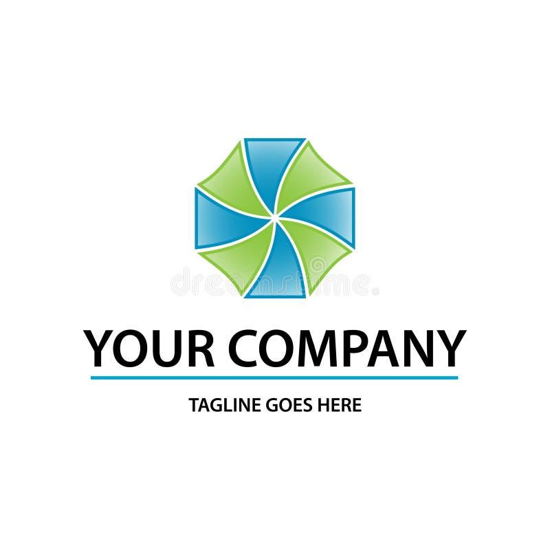 Logo dinamico illustrazione di stock
