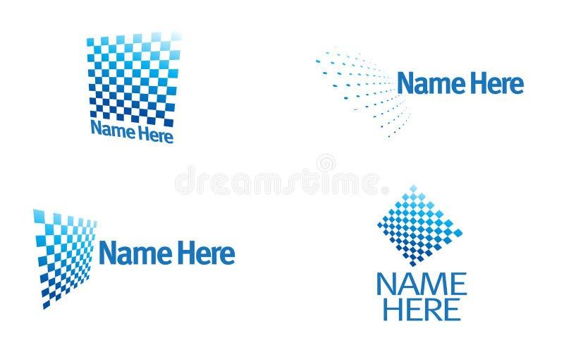 Logo - divertissement, télévision, transmission illustration stock