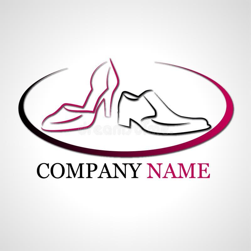 Logo dla but firmy royalty ilustracja