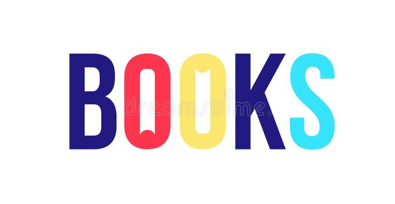 Logo dla książkowego sklepu kuli ziemskiej loga wektoru sieć Wizerunek odizolowywa na białym tle Firma gatunek firma, wydawca lub ilustracja wektor
