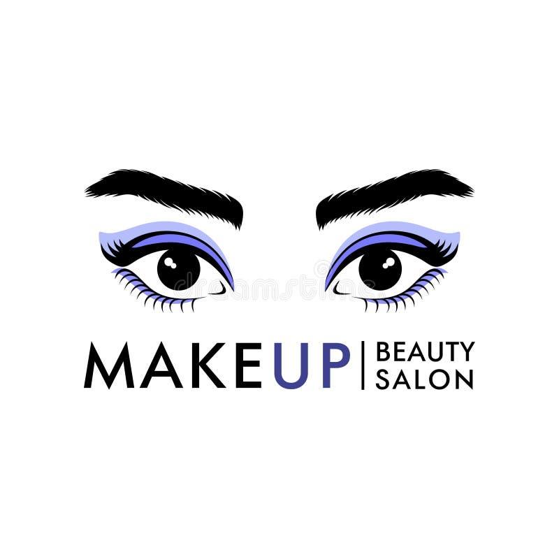 Logo dla piękno salonu lub studia ilustracji