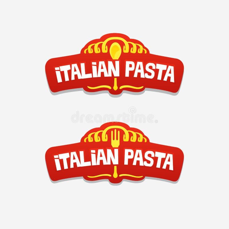 Logo dla restauraci lub kawiarni royalty ilustracja