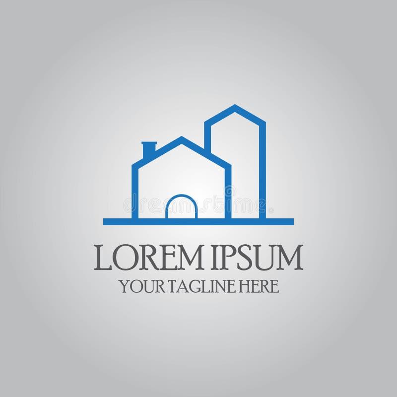 Logo domestico astratto illustrazione vettoriale