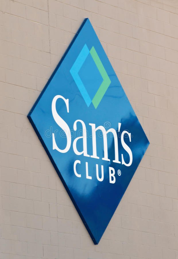 Logo du club de Sam images stock