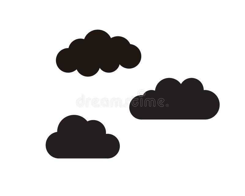 Logo e simbolo di dati dei server della nuvola royalty illustrazione gratis