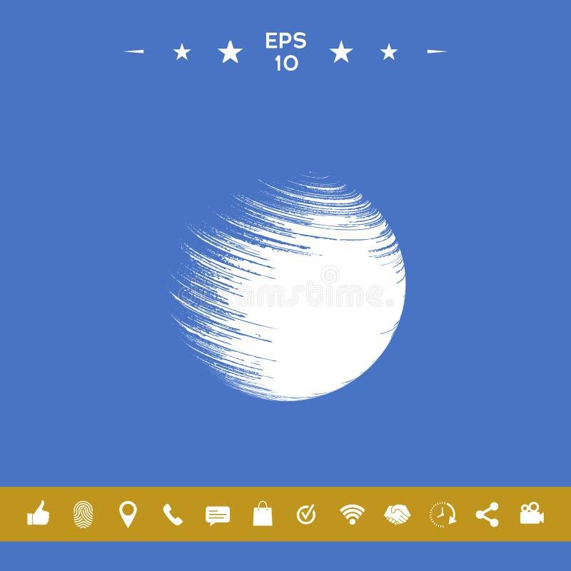 Logo Earth-symbool vector illustratie