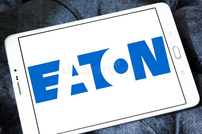 Logo Eaton Corporation lizenzfreies stockbild