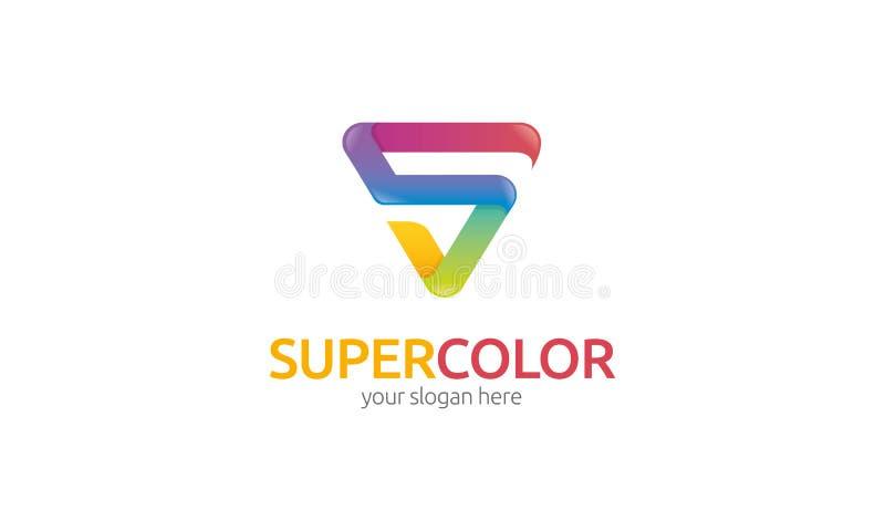 Logo eccellente di colore royalty illustrazione gratis