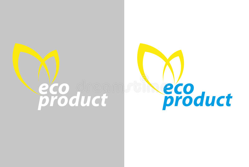 Logo Eco Product Royalty Free Stock Images