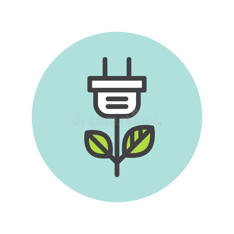 Logo Element für Netz-APP-Design lizenzfreie abbildung
