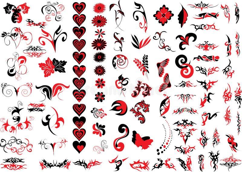 Logo elements royalty free stock image