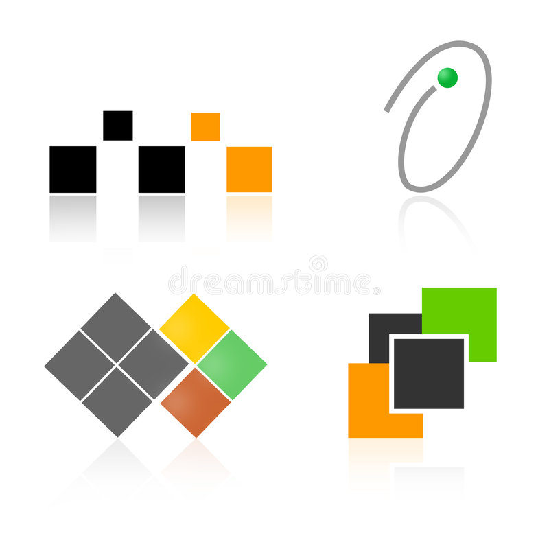 Download Logo Elements / Shapes Collection Stock Vector - Image: 3940394