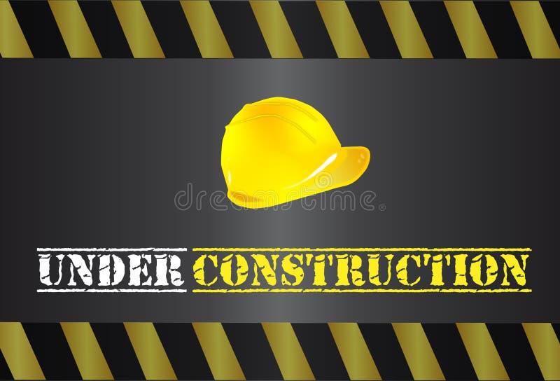 Logo en construction illustration stock