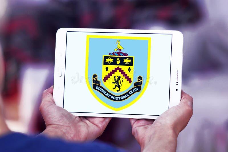 Burnley F.C. soccer club logo royalty free stock photo