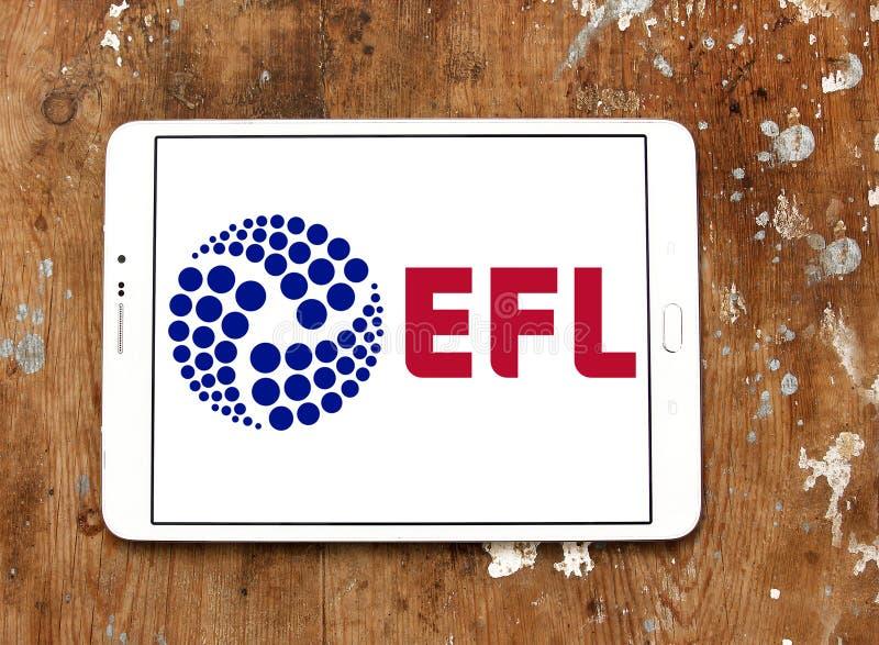 English Football League, EFL, logo. Logo of English Football League, EFL, on samsung tablet. The English Football League EFL is a league competition featuring royalty free stock photos