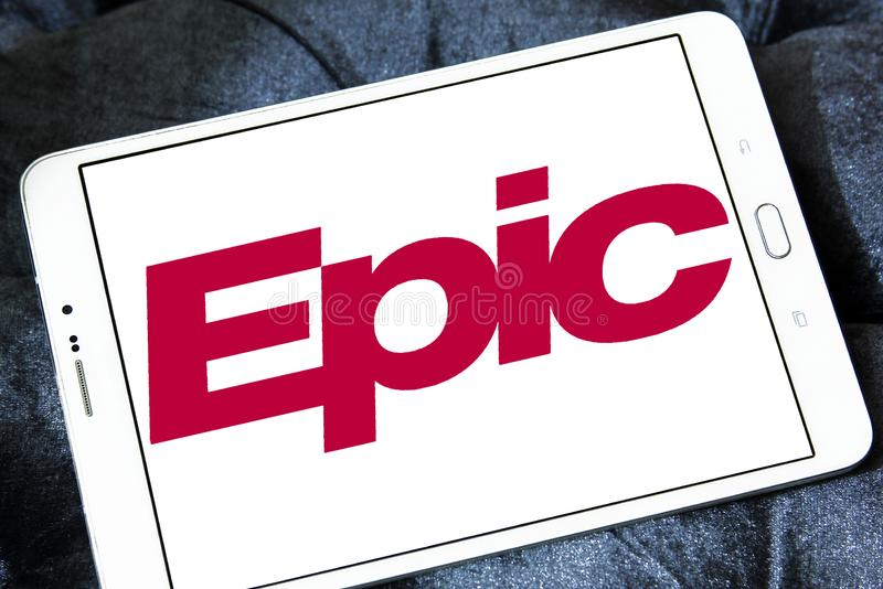 Epic Systems Company Logo Editorial Stock Image Image Of Symbol