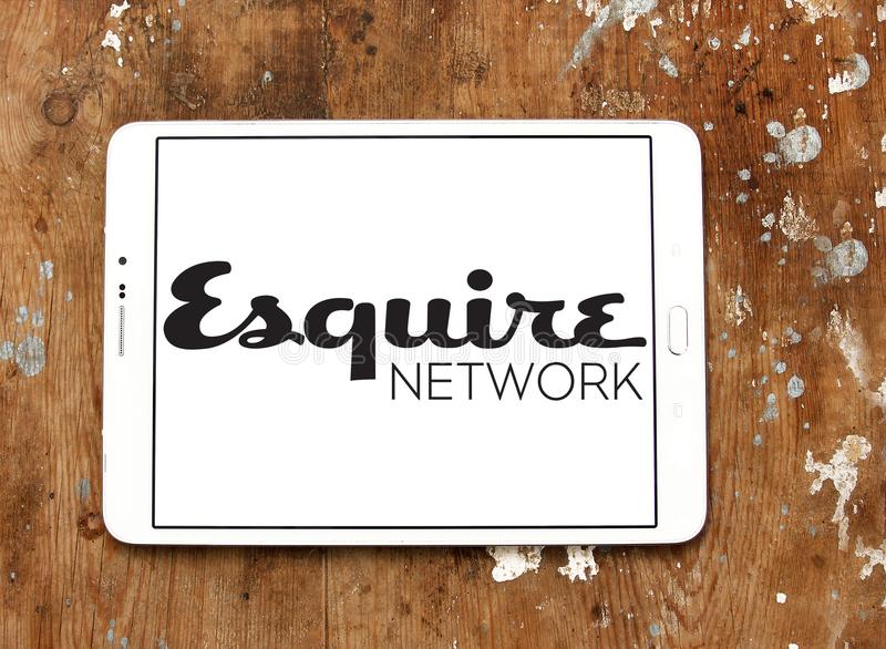 Esquire Network logo stock images