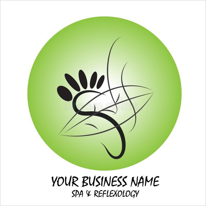 Logo et illustration modernes simples et ?l?gants, ?l?ment tir? par la main de vecteur de maison illustration stock
