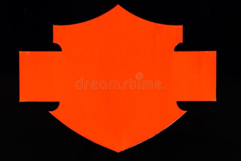 Logo et signage de Harley Davidson Le PORC d'acronymes représente Harley Owners Group I images libres de droits