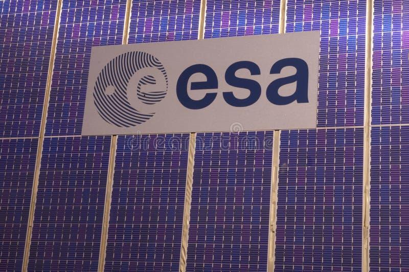 Logo of the European Space Agency (ESA) royalty free stock photos