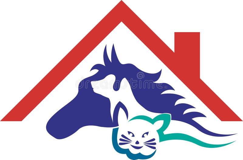 Logo för älsklings- omsorg royaltyfri illustrationer