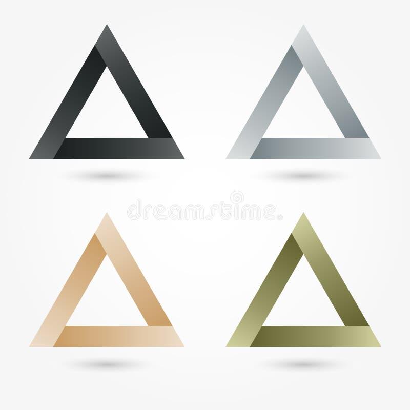 Logo för affär för symbolsuppsättningabstrakt begrepp vektor illustrationer