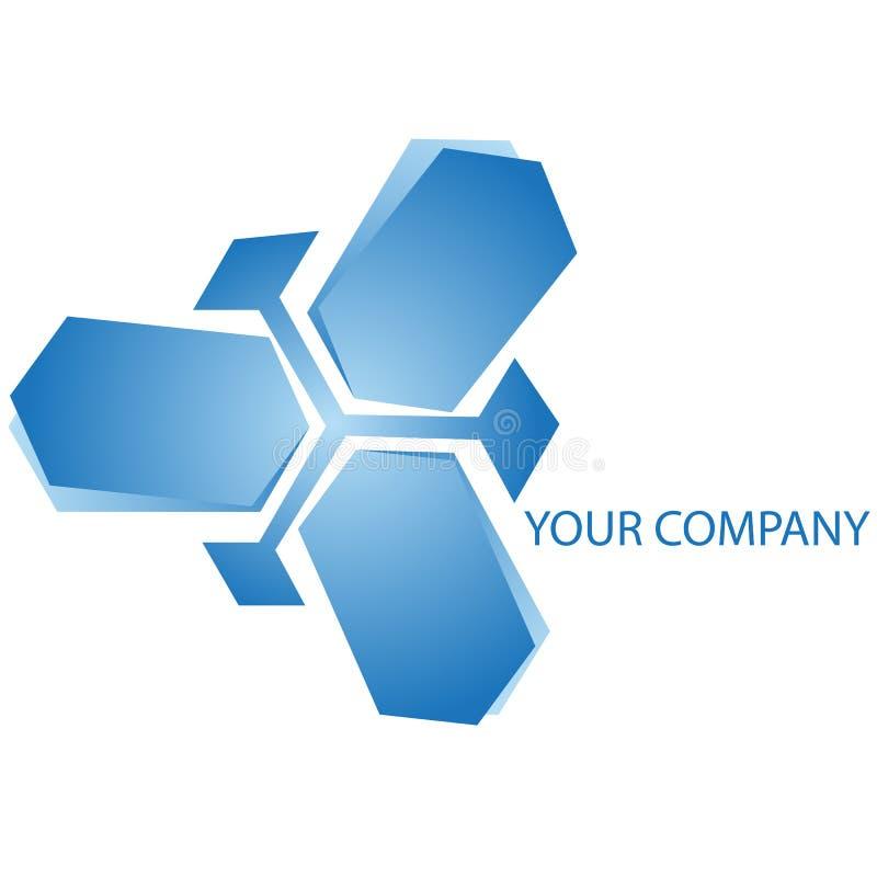 logo för affärsföretag vektor illustrationer