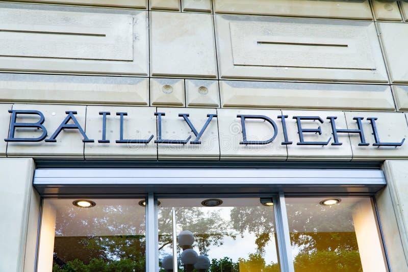 Logo för BAILY DIEHL arkivbilder