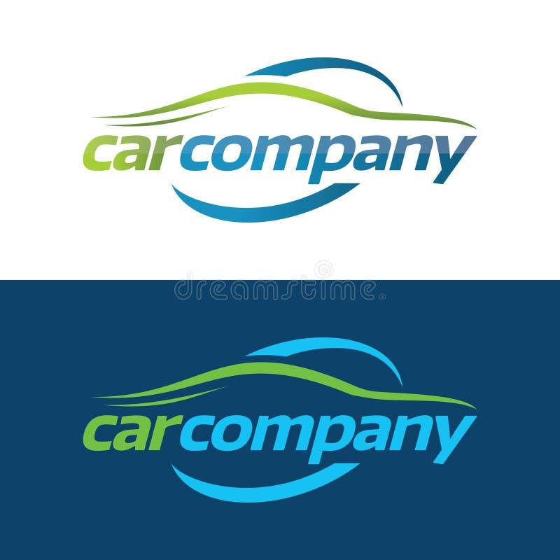 Logo för bilföretag och symbol - vektorillustration arkivbilder
