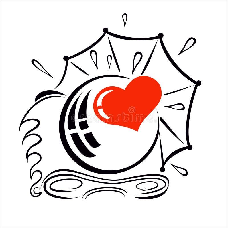 Logo för för fotokameraaffisch eller emblem arkivbilder