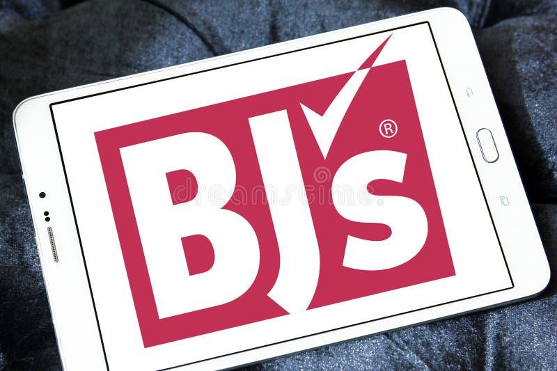 Logo för klubba för grossist för BJ-` s royaltyfri foto