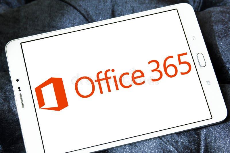 Logo för kontor 365 fotografering för bildbyråer