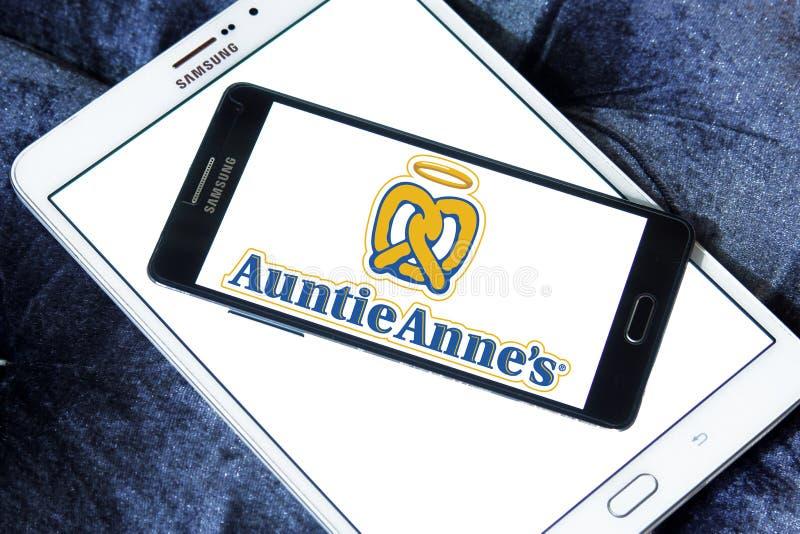 Logo för liten tantannessnabbmat royaltyfria foton